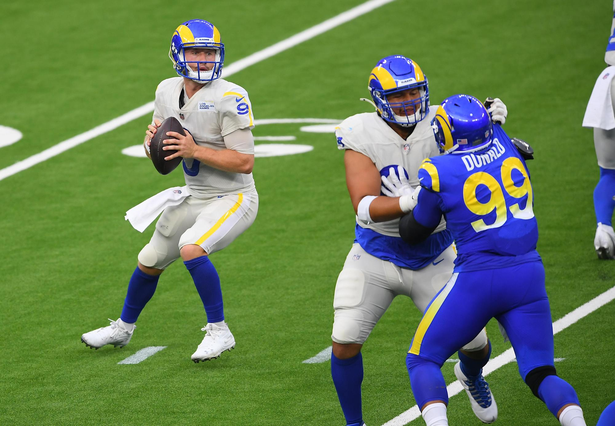 Watch John Wolford Was Electric In Rams Scrimmage This Summer