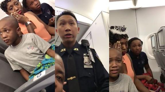 Family gets kicked off of a JetBlue flight for a birthday cake