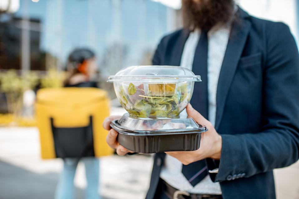 Restaurants forced to only offer takeaway have used single-use plastic containers, while increased online shopping has also contributed to the problem.