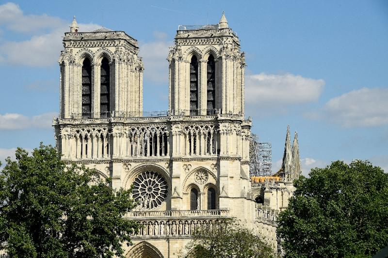 There will be just 20 people attending the first mass at Notre-Dame since the fire