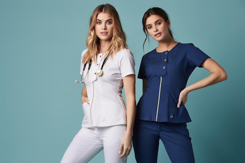 a9399633d1a This company is making stylish scrubs so doctors and nurses can express  themselves while on the job