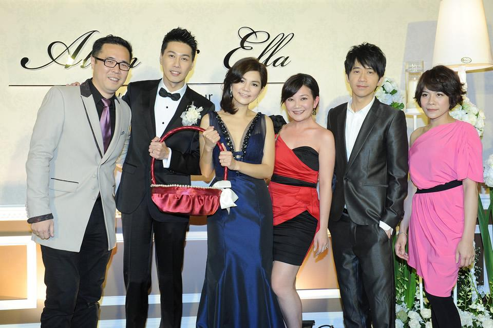 "From right: Malaysian singers <span class=""st"">Melody Chiang, Guang Liang and Fish Leong<br></span>"