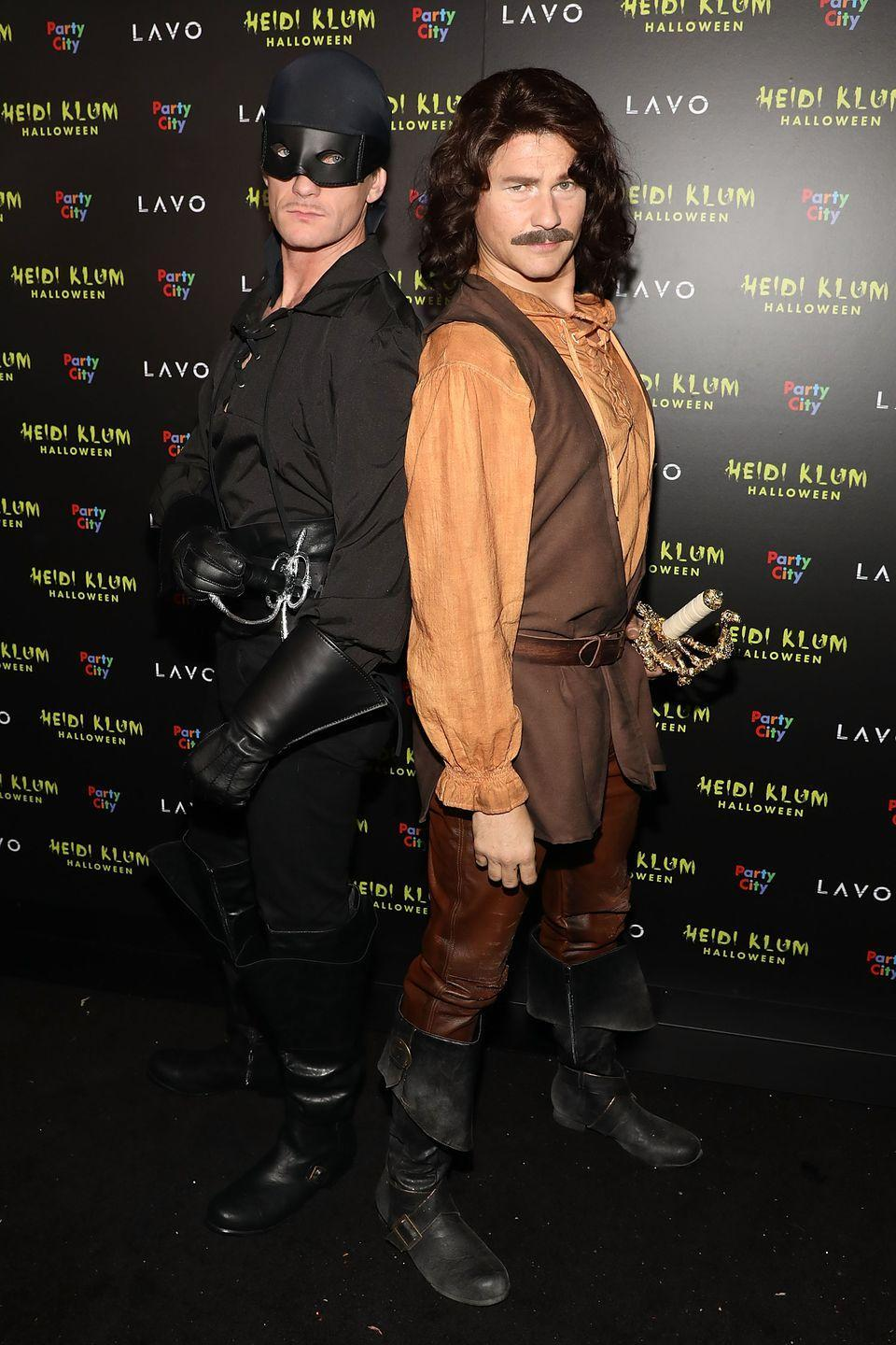 <p>Neil Patrick Harris and husband David Burtka rolled up to Heidi Klum's 2018 Halloween party completely decked out as two beloved characters from the classic movie <em>The Princess Bride.</em> For the record, any gender can dress these iconic parts.</p>