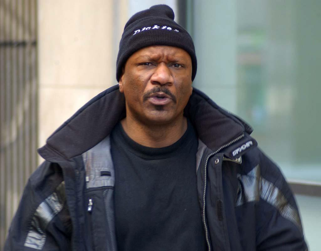 """Two dogs belonging to Ving Rhames apparently mauled a man at the star's home on Friday. It's unclear whether the victim, Rhames' caretaker, died of a heart attack or his injuries. An autopsy is scheduled for Monday. John Kennedy/<a href=""""http://www.splashnewsonline.com"""" target=""""new"""">Splash News</a> - March 15, 2005"""