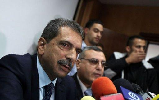 Tawfiq Tirawi, the head of the Palestinian inquiry team into the death of late Palestinian leader Yasser Arafat, speaks during a press conference in the West Bank city of Ramallah on November 24. One of the Middle East's greatest political mysteries will come a step closer to being solved on Tuesday when scientists exhume Arafat's remains to see if he was poisoned