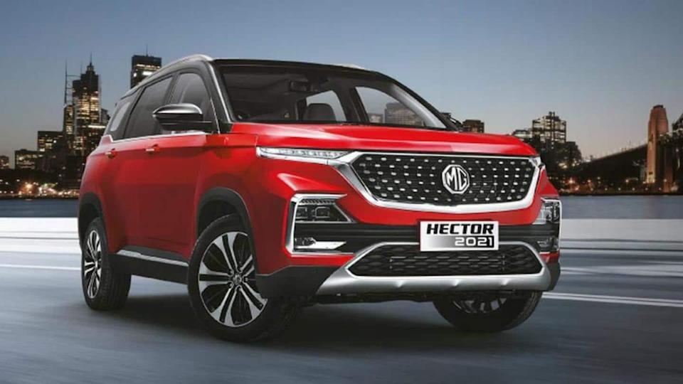 MG Hector (facelift) launched in India at Rs. 12.89 lakh