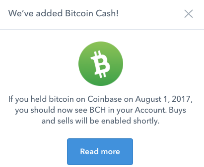 Bitcoin coinbase users get cash windfall while the arrival of bitcoin cash amounts to a windfall for coinbase customer it also has the potential to create a nightmare when it comes to dealing with ccuart Gallery