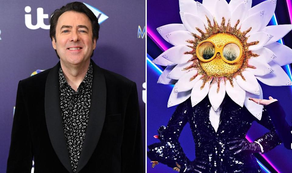Jonathan Ross made an unfortunate gaffe while trying to guess Daisy's identity (Photo: David Fisher/Vincent Dolman/ITV)