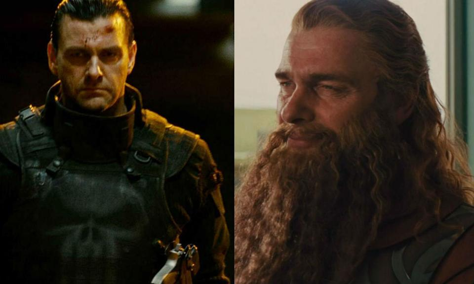 <p>Ray Stevenson is one of four actors to have played The Punisher, leading his own movie as the antihero in Punisher: War Zone. He has also appeared as Volstagg in the Thor franchise. </p>