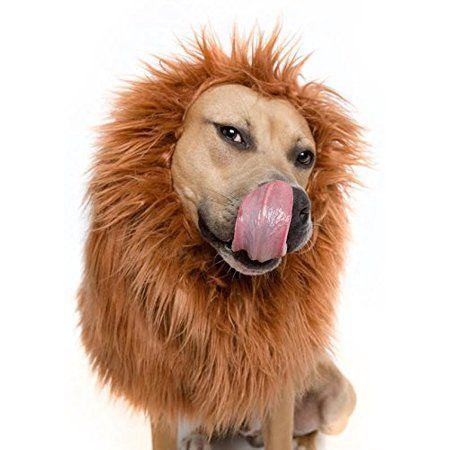 """<p>A fitting look for your true king of the castle.</p><br><br><strong>Pet Krewe</strong> Lion Mane Wig, $14.95, available at <a href=""""https://www.walmart.com/ip/Lion-Mane-Costume-and-Big-Dog-Lion-Mane-Wig-Large-Dog-Costumes-by-Pet-Krewe/761180884"""" rel=""""nofollow noopener"""" target=""""_blank"""" data-ylk=""""slk:Walmart"""" class=""""link rapid-noclick-resp"""">Walmart</a>"""