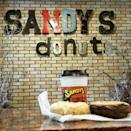 """<p><a href=""""https://foursquare.com/v/sandys-donuts/54256982498e59b463b07818"""" rel=""""nofollow noopener"""" target=""""_blank"""" data-ylk=""""slk:Sandy's Donuts"""" class=""""link rapid-noclick-resp"""">Sandy's Donuts</a>, Fargo</p><p>""""Loved it. Tasty donuts. Huge collection. Cozy place. Must try!"""" - Foursquare user <a href=""""https://foursquare.com/user/73356795"""" rel=""""nofollow noopener"""" target=""""_blank"""" data-ylk=""""slk:Navid Ayon"""" class=""""link rapid-noclick-resp"""">Navid Ayon</a></p>"""
