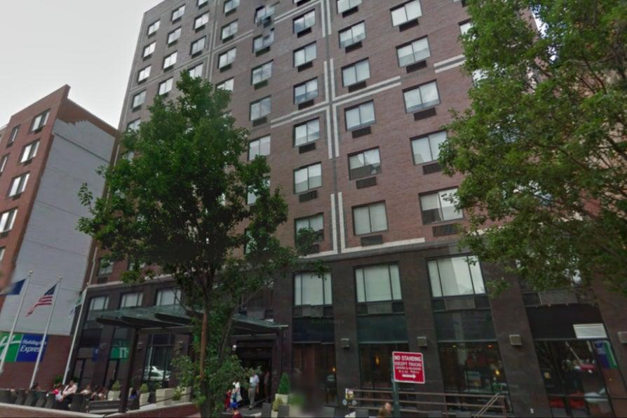 <p>Ana collapsed in her hotel room on the morning of December 19</p> (Google )