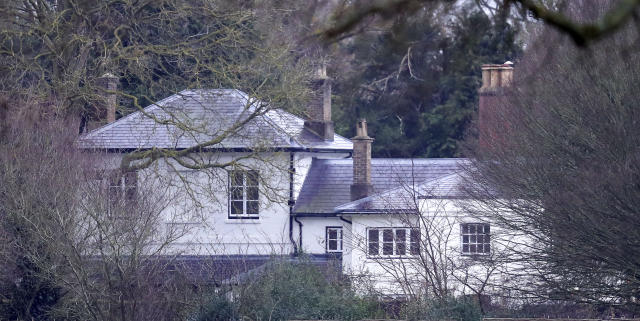The cottage was in need of renovation before Harry and Meghan moved in. (Getty Images)