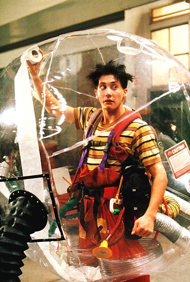 "<a href=""http://movies.yahoo.com/movie/1804578201/info"">BUBBLE BOY</a> (2001)    Gyllenhaal doesn't get bulked up so much as inflated in this airy romantic comedy about a crippling auto-immune disease"