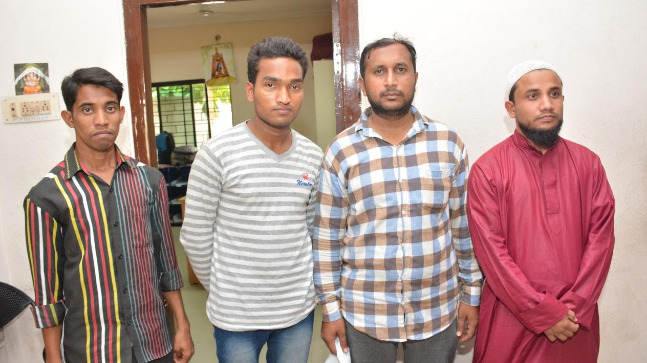 The accused had applied for Indian passports by submitting Aadhar cards