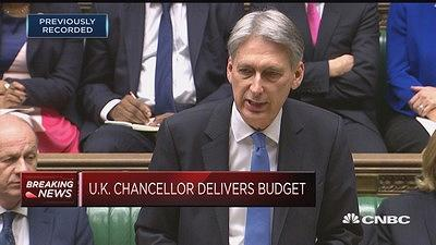 "Philip Hammond delivers his Autumn Budget, saying that he wants the country to ""be prepared for every possible outcome."""