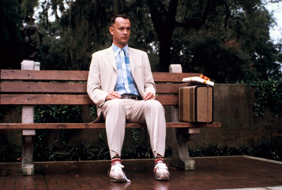 "Tom Hanks in a scene from the motion picture ""Forrest Gump."" CREDIT: Phillip Caruso, Paramount Pictures [Via MerlinFTP Drop]"