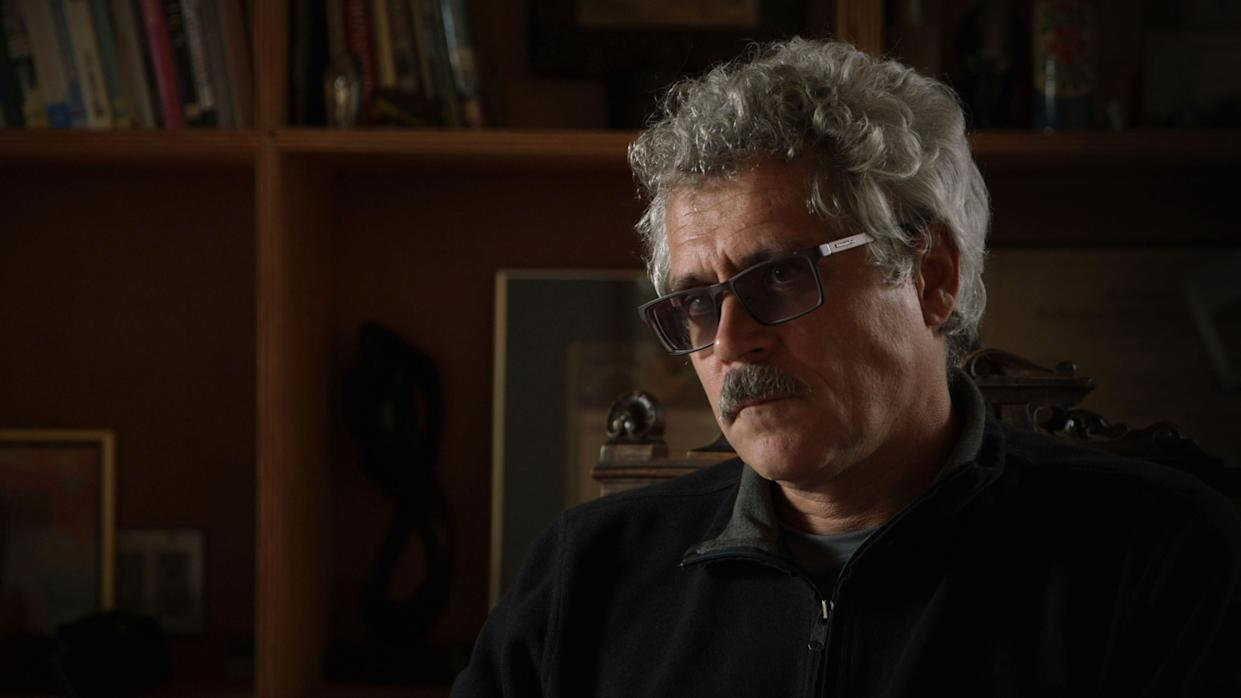 """Grigory Rodchenkov is interviewed in """"Icarus,"""" a documentary released this year. (Photo: Netflix/Kobal/REX/Shutterstock)"""