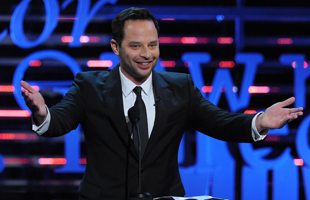 CULVER CITY, CA - AUGUST 25: Actor Nick Kroll speaks onstage during The Comedy Central Roast of James Franco at Culver Studios on August 25, 2013 in Culver City, California. The Comedy Central Roast Of James Franco will air on September 2 at 10:00 p.m. ET/PT. (Photo by Kevin Winter/Getty Images for Comedy Central)