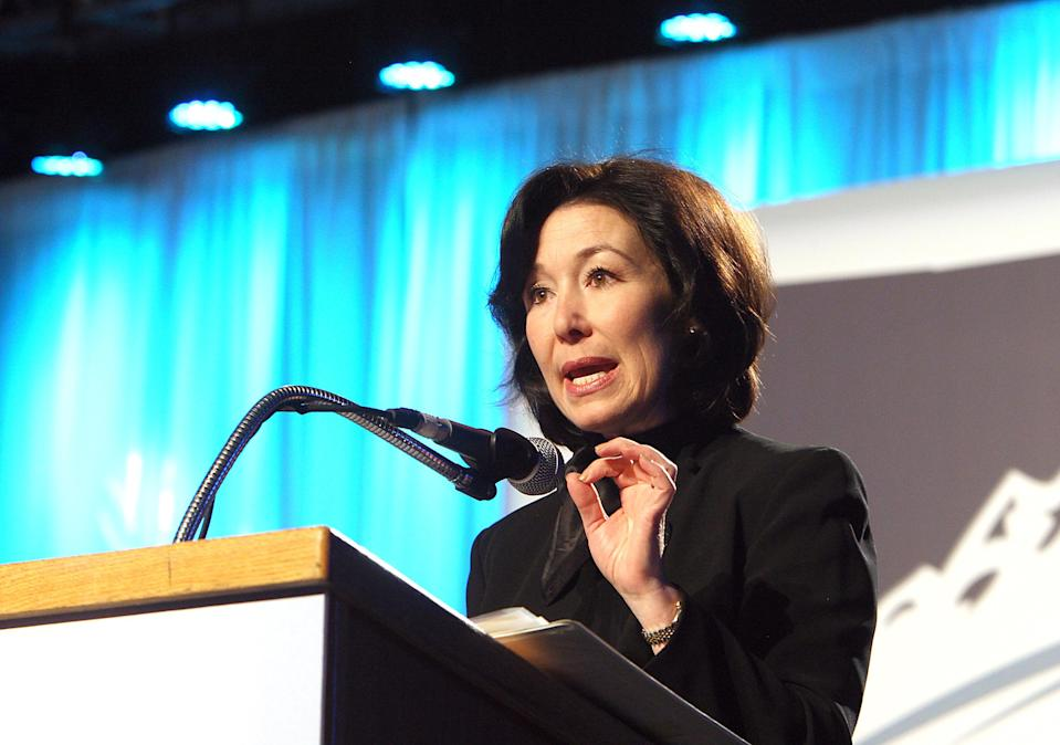 Oracle co-CEO Safra Catz Source: AP Photo/The Montana Standard, Walter Hinick