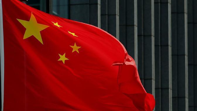 Ilustrasi Bendera China (AFP/STR)