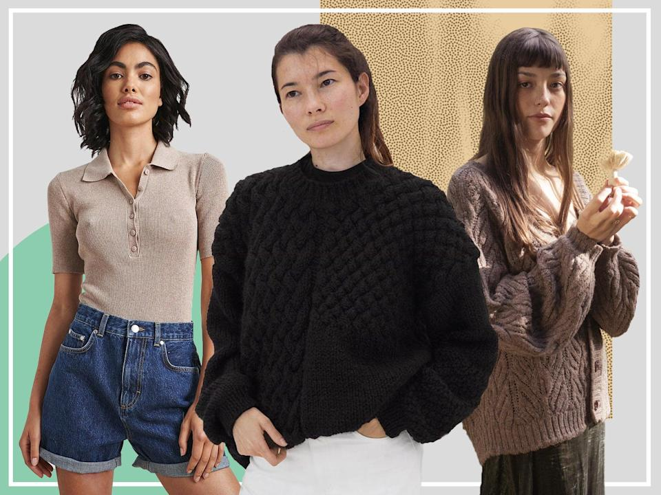 <p>From roll necks to cardigans, keep warm this winter with our woven picks</p> (The Independent)