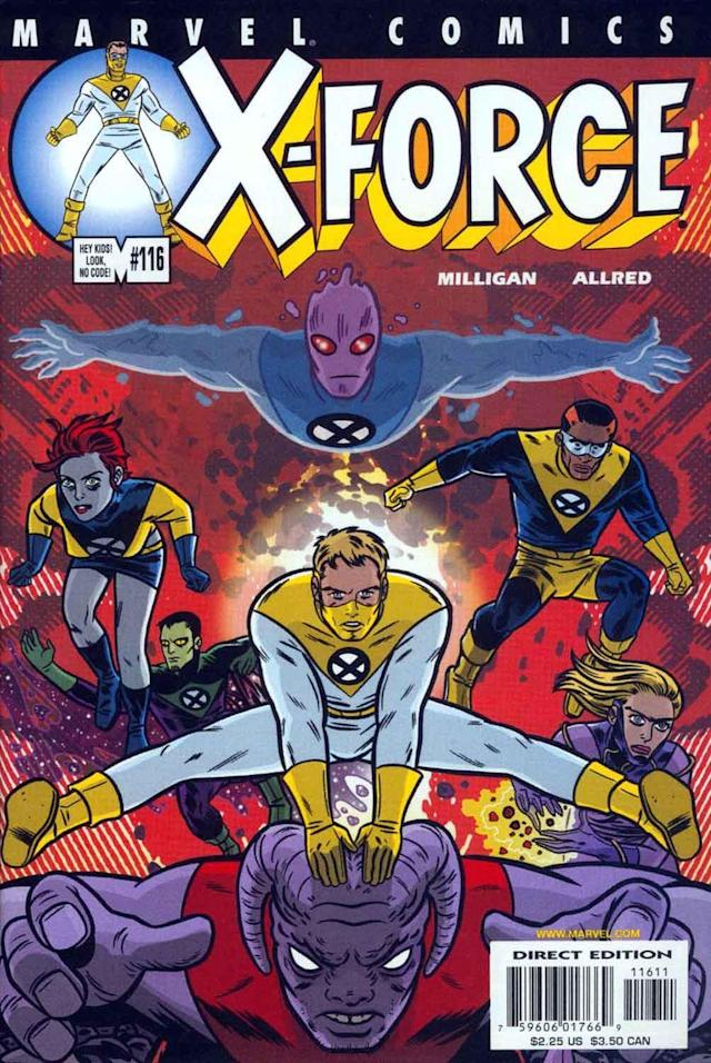 The cover of <i>X-Force</i> No. 116. (Image: Marvel Comics)