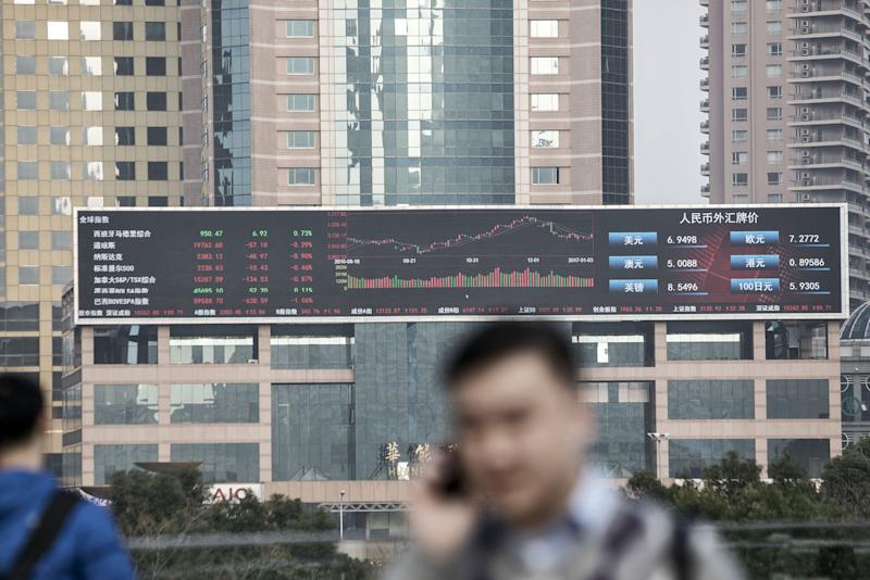 Panic Selling Grips Chinese Stocks After U.S. Tensions Worsen