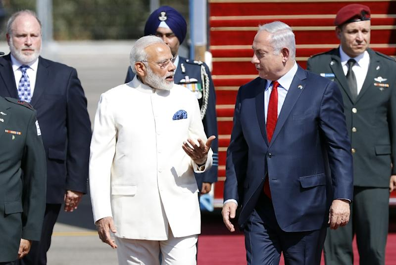 Israeli Prime Minister Benjamin Netanyahu's trip to India next week comes after Indian counterpart Narendra Modi's visit to Israel in July