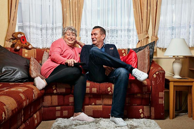 Lee and Jenny have moved in together during the coronavirus crisis to continue filming (Channel 4)