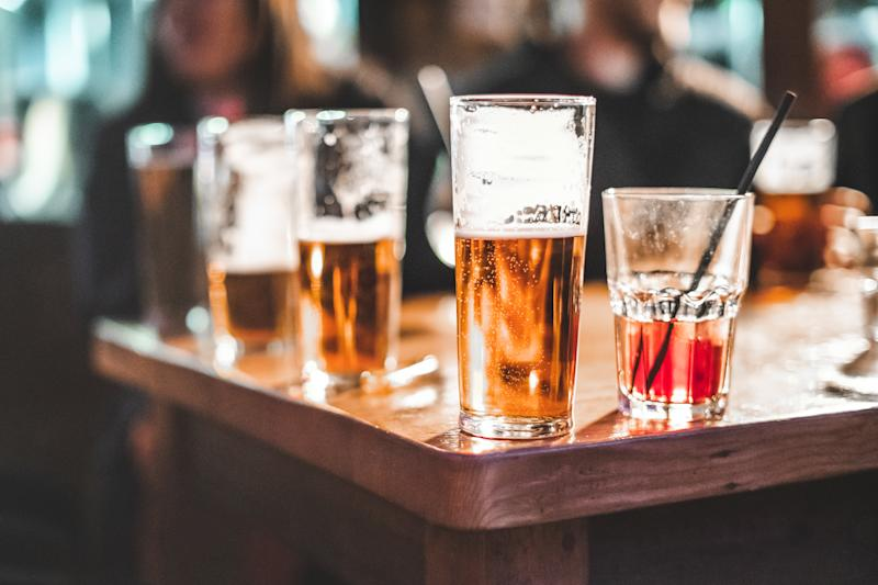 Researchers at Yale have pinpointed 29 genetic risk factors that can lead to problematic drinking in a new study (Credit: Getty Images)