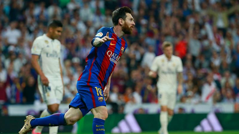 Barcelona superstar Messi sets another record with 15th Clasico goal in La Liga