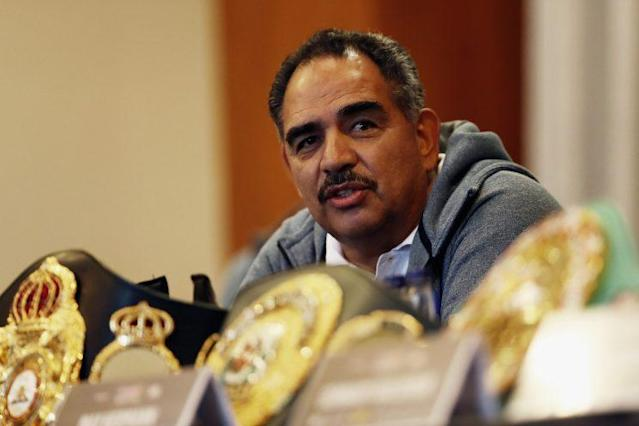 Abel Sanchez is the 2016 Yahoo Sports Trainer of the Year. (Getty Images)