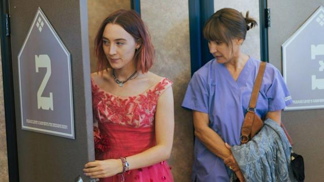 Saoirse Ronan and Laurie Metcalf in 'Lady Bird' (A24)