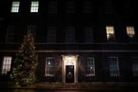 General view of 10 Downing Street, in London