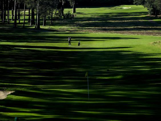 Courses are now shut in the UK (Getty)