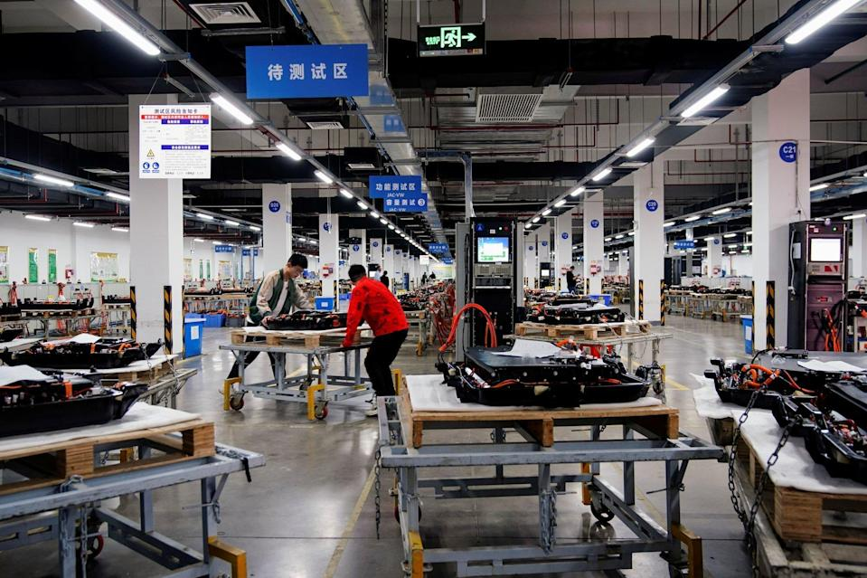 Zhang said the only expectations for men in China is to work and earn money. Photo: Reuters
