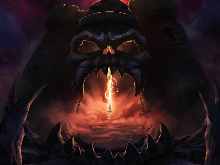 "The first look at ""Masters of the Universe: Revelation."""