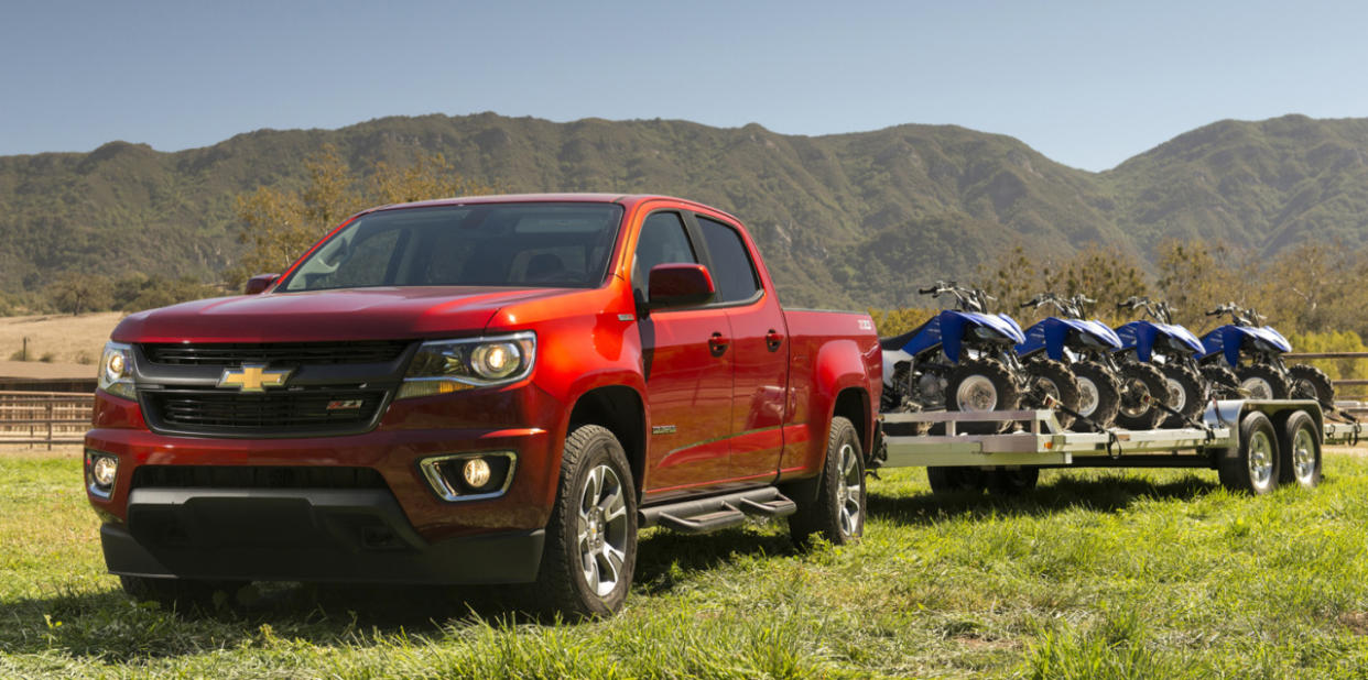 2016 Chevrolet Colorado Duramax Diesel: First Drive