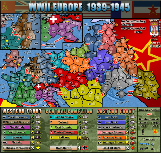 Where to Play Risk Online: Conquer Club