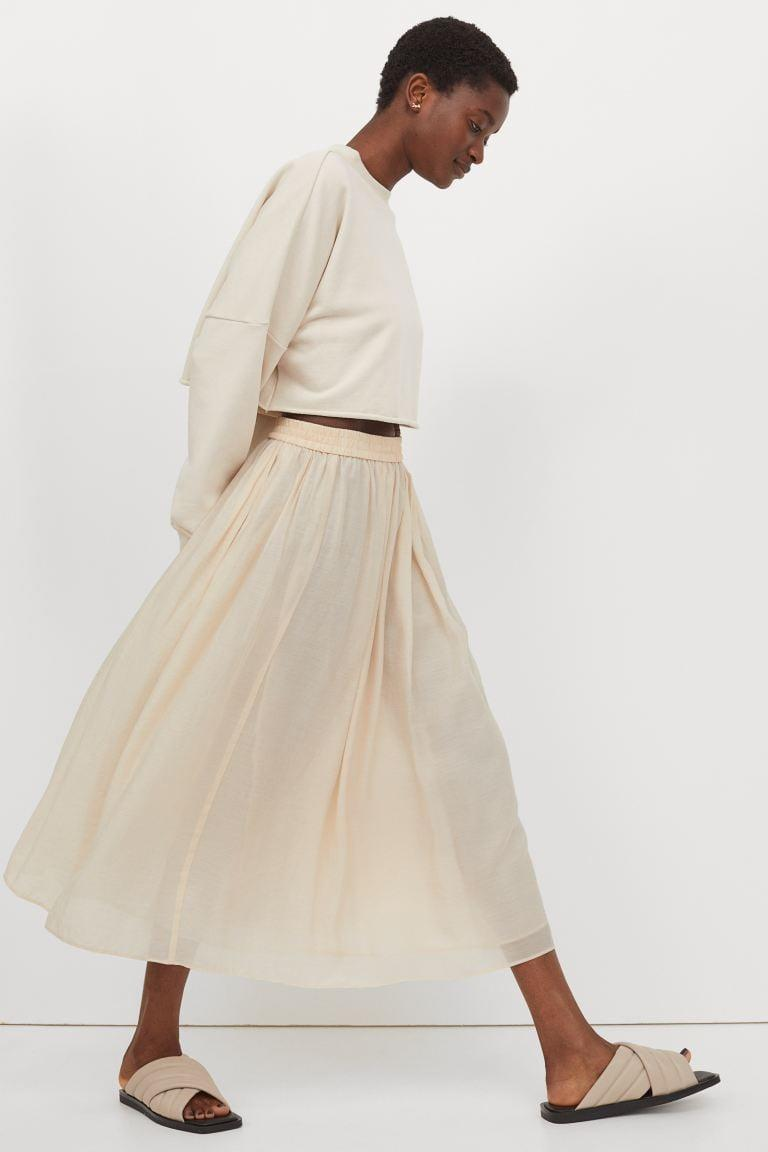 <p>This <span>H&amp;M Circle Skirt</span> ($30) will be your new favorite piece.</p>