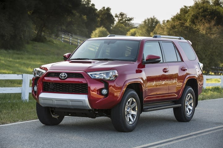 2016 Toyota 4Runner Trail photo