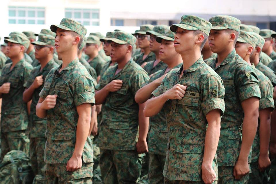 (PHOTO: The Singapore Army/Facebook)