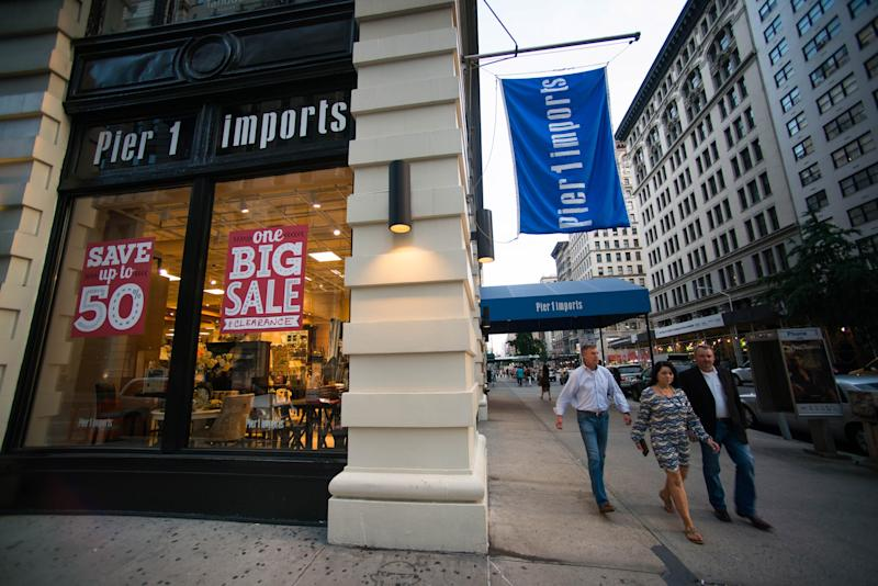 Pier 1 Imports is planning to close over 50 stores