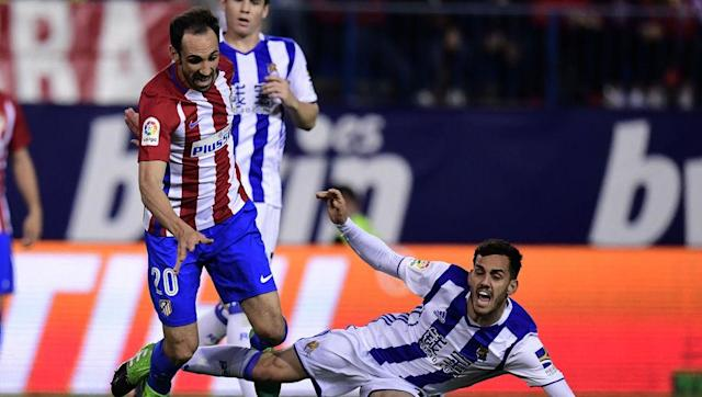 <p>A key player for Atletico Madrid since he arrived at the club in 2011 from Osasuna, the Spanish European Championship winner has made over 250 appearances for Atletico and was part of the side that won the La Liga title in 2013-14. </p> <br><p>He also has a Europa League winners' medal and has been to two Champions League finals.</p>