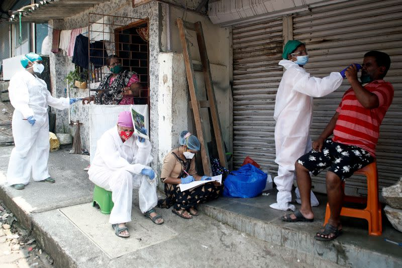 India reports global daily record of new coronavirus cases
