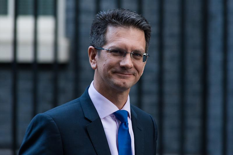 Steve Baker MP leaves Downing Street in central London as members of the European Research Group (ERG) met with Prime Minister Boris Johnson on 22 October, 2019 in London, England. Today MPs in the House of Commons debate and vote on the European Union Withdrawal Agreement bill, known as the second reading and on the programme motion of Boris Johnson's plan to complete the Brexit legislation within three days. (Photo by WIktor Szymanowicz/NurPhoto via Getty Images)
