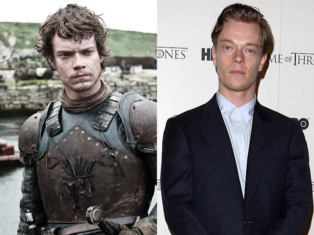 "<b>Alfie Allen (Theon Greyjoy)</b><br><br>Though his ""Game of Thrones"" character Theon Greyjoy may have some serious issues with his sister, in real life, Alfie Allen has a great relationship with his big sister: British pop star Lily Allen. Perhaps her song ""Alfie,"" which she wrote about the 25-year-old actor, encouraged him ""to get a job."" And what an excellent job he finally did get!"