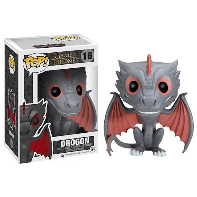 <p>For a while, Drogon and his siblings were about the size of housecats. In Season 7, they'll be the size of 747s. </p>