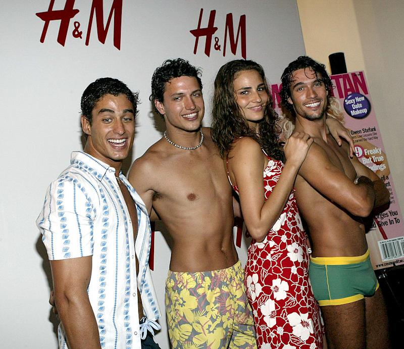 H&M swimwear campaign back in 2004